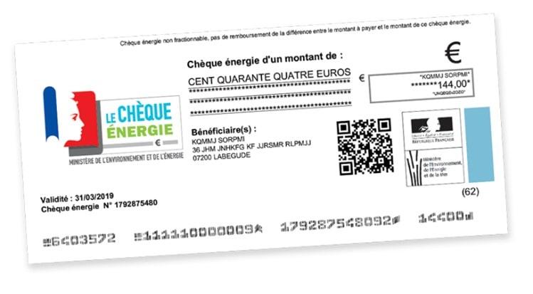 Rénovation travaux chèque énergie aide